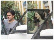 Arbaaz Khan & His Alleged Girlfriend Giorgia Andriani Enjoy A Lunch Date In Bandra!
