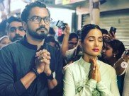 Hina Khan Seeks Ganpati's Blessings With Rocky Jaiswal; Gets Trolled For Visiting Lalbaughcha Raja!