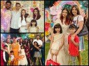 Inside Pictures & Videos! Aishwarya Rai & Abhishek Play MUSICAL CHAIRS At Aaradhya's Birthday Party