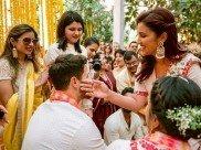 Unseen Pics From Priyanka Chopra's Wedding: Parineeti Chopra Applies Haldi To 'Jiju' Nick Jonas!