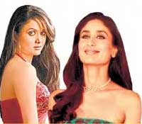 Amrita Arora and Kareena Kapoor
