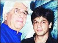 Aziz Mirza and Shahrukh