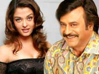 Aishwarya and Rajini