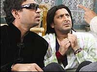 Arshad and Irrfan