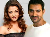 Aishwarya and John Abraham