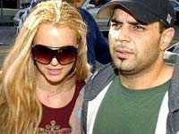 Britney Spears and Sam Lutfi