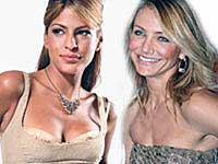 Eva Mendes and Cameron Diaz