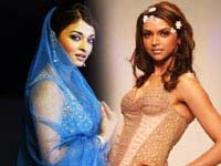 Aishwarya and Deepika