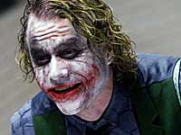 Heath Ledger in Dark Knight