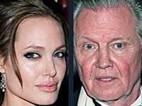 Angelina Jolie and enstraged father Jon Voight