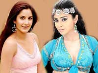 Katrina and Shreya