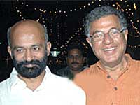 Sridhar and Girish Karnad