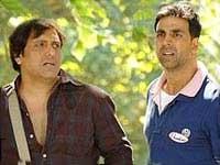Akshay Kumar and Govinda