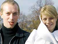 Gwenyth Paltrow and Chris Martin