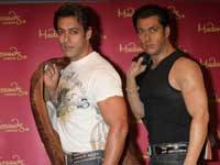 Salman at Madame Tussauds