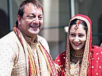 Sanjay Dutt, Manyata wedding photo