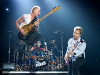 Sting live with the Police