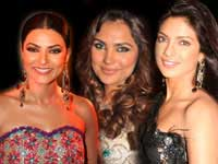 Sushmita, Lara and Priyanka