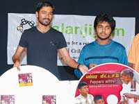 Dhanush at the function