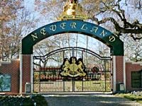 The entrance to Neverland