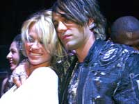 Pamela Anderson and Criss Angel