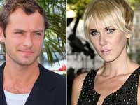 Jude Law and Kimberly Stewart