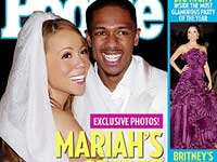 The happy couple on the cover of Intouch