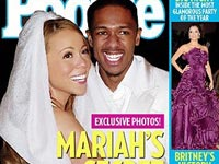 Mariah Carey and Nick Cannon on the cover of People Magazine