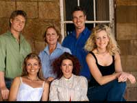 The cast of McLeods Daughters