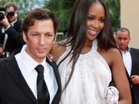 Naomi Campbell and her conman date at Cannes