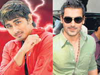 Siddharth and John Abraham
