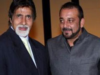Amitabh and Sanjay