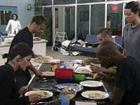 A scene from Big Brother 9