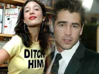 Colin Farrell and Emma Forrest