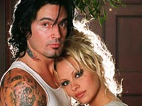 Tommy Lee and Pamela