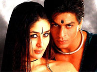 Shahrukh Khan and Kareena Kapoor