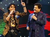 Udit Narayan and Toshi Sabri