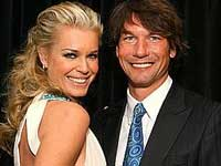 Jerry O Connell and Rebecca Romijn