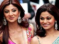 Shilpa Shetty and Shamitha Shetty