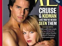 Nicole Kidman and Tom Cruise when they were married
