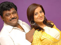 Jaggesh and Pooja Gandhi