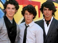 The Jonas Brothers who took home six awards