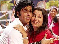 Shahrukh Khan and Farah Khan