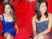 Mugdha Godse and Priyanka Chopra