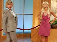 Paris Hilton and Ellen DeGeneres