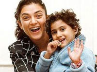 Sushmita Sen and Renee