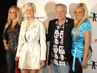 Hugh Hefner with New Girlfriends