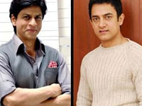 Aamir Khan and Shahrukh Khan