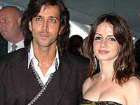 Hrithik Roshan with Suzanne