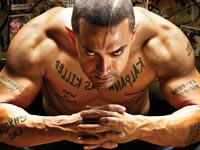 Still from Ghajini